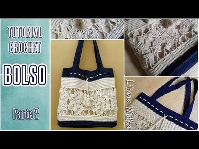 Cómo tejer bolso o cartera a crochet (2.3)