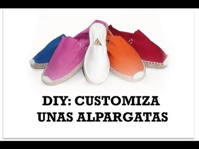 DIY customiza unas zapatillas