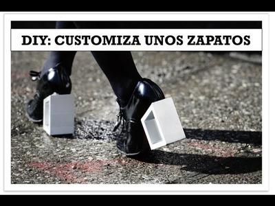 DIY: Customiza unos zapatos