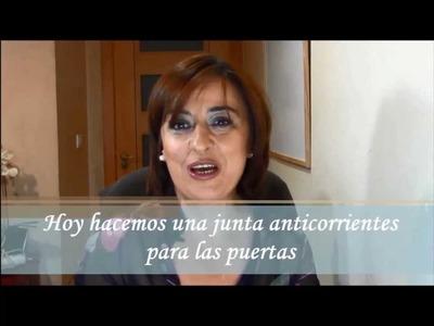ELIMINAR LAS CORRIENTES DE AIRE BAJO LAS PUERTAS