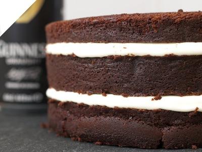 Guinness Layer Cake | Recetas de Repostería por Azúcar con Amor
