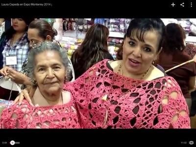 Laura Cepeda en Expo Monterrey 2014 - Tejiendo con Laura Cepeda