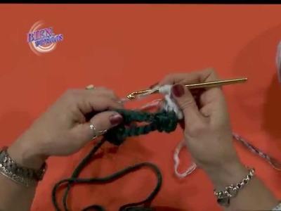 Mónica Astudillo  - Bienvenidas TV en HD - Teje un poncho al crochet.