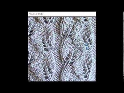 Tejidos crochet, ganchillo,puntos para tejer a dos agujas,