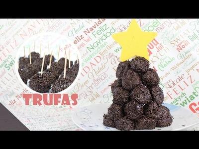 Trufas de Chocolate | Chocolate Truffles Tree