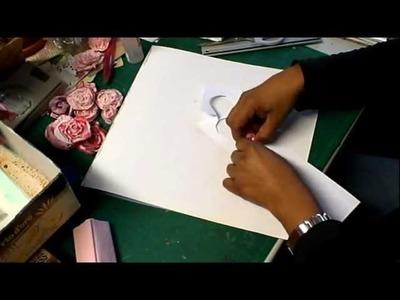 Tutorial: Rosas en papel crepé