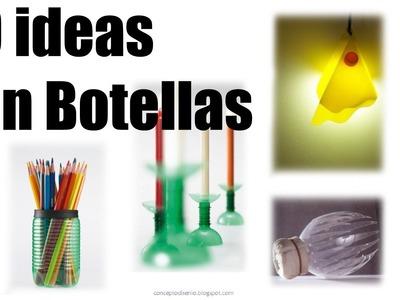 20 ideas para hacer con plastico de botellas recicladas