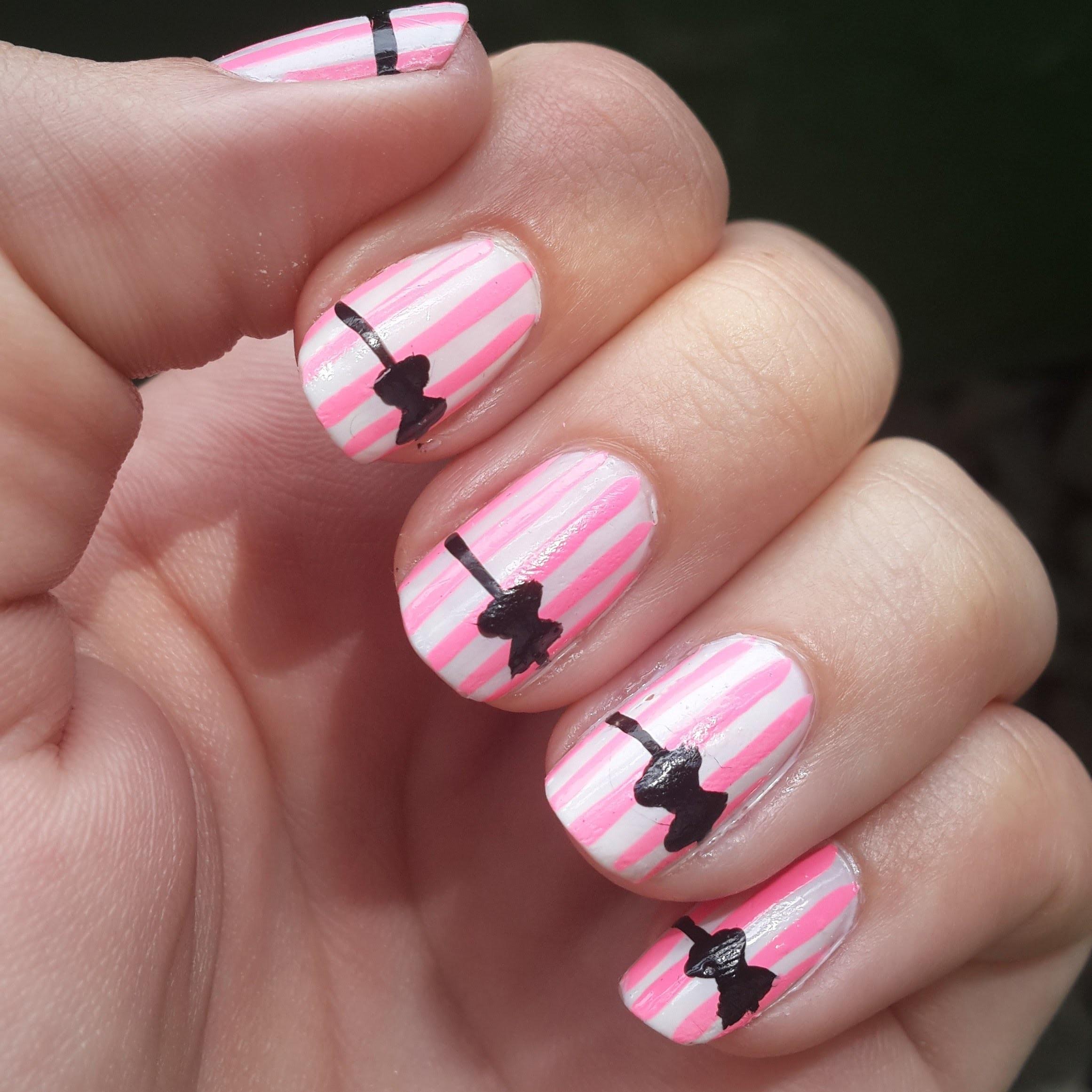 3 Diseños FÁCILES de Uñas - 3 EASY Nail Art Designs