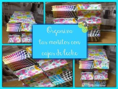 Cajonera para Moñitos ♥ (Con material Reciclado)♥