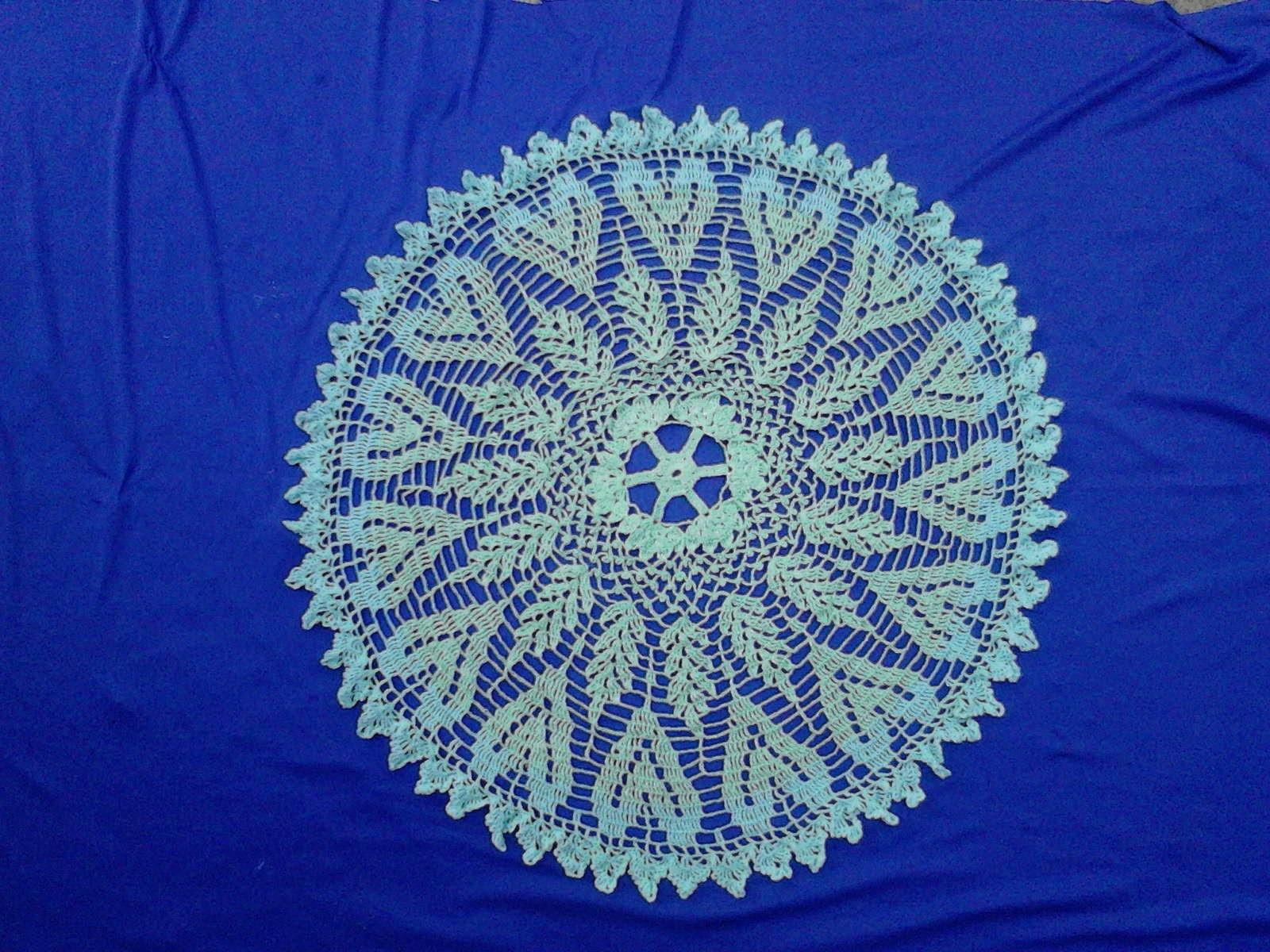 Carpeta crochet corazones 1 de 3