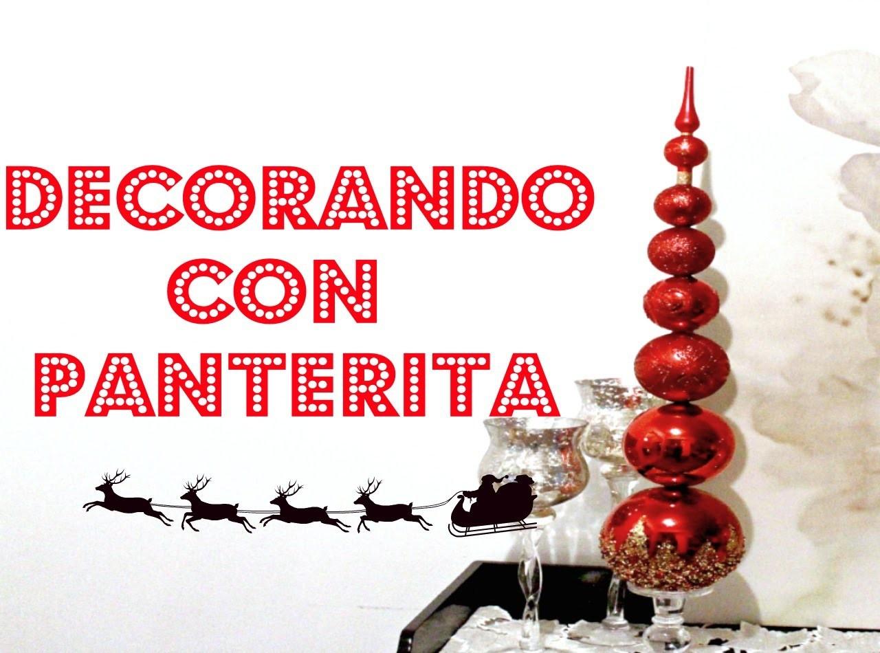 Christmas ornaments cone| conos de esferas de Navidad