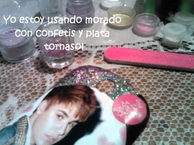 Como decorar mi celular estilo Justin Bieber