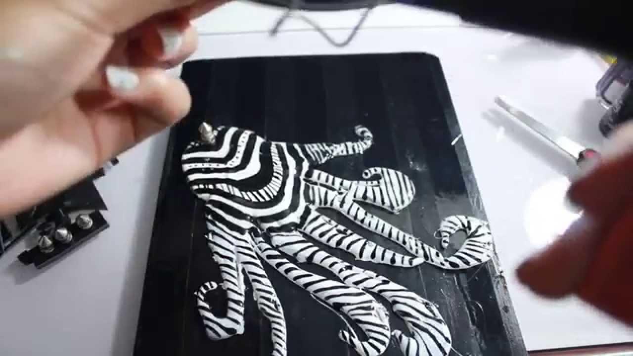 Cómo decorar tu cuaderno (Negro y blanco). How to decorate your notebook