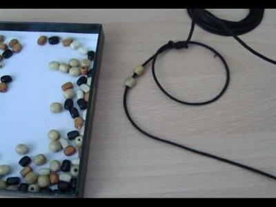 Cómo hacer pulseras de cuero (1)