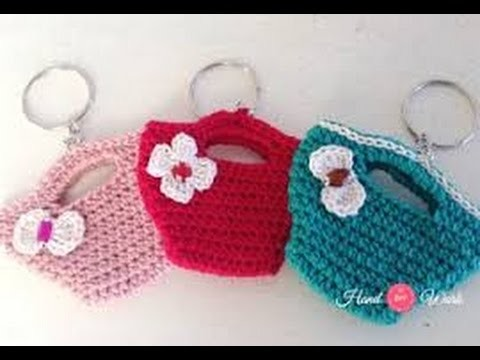 Como Hacer un LLavero Tejido al Crochet - Hogar Tv por Juan Gonzalo Angel
