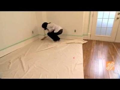 Como pintar las paredes de una habitación