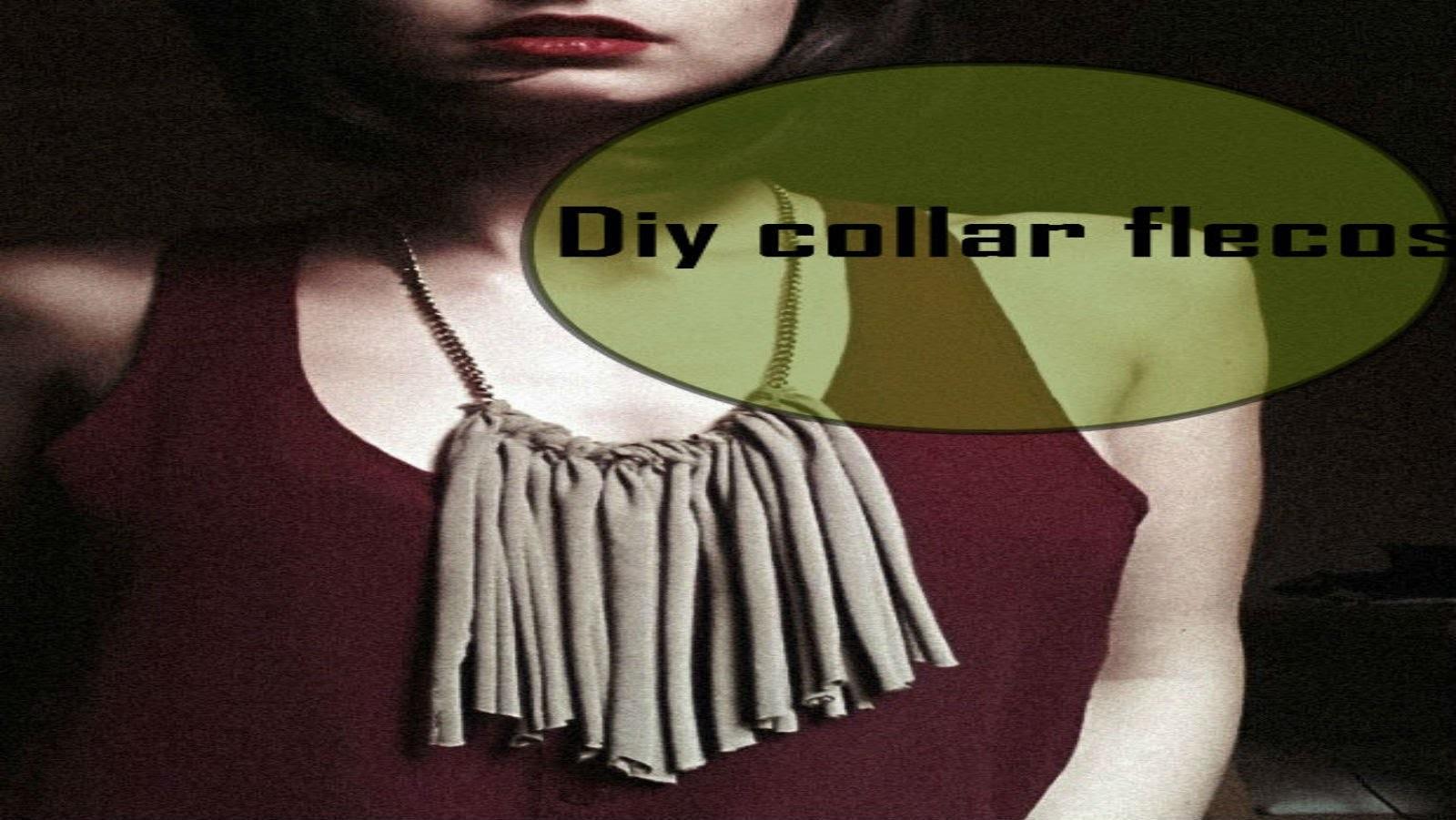 DIY COLLAR CON FLECOS 3