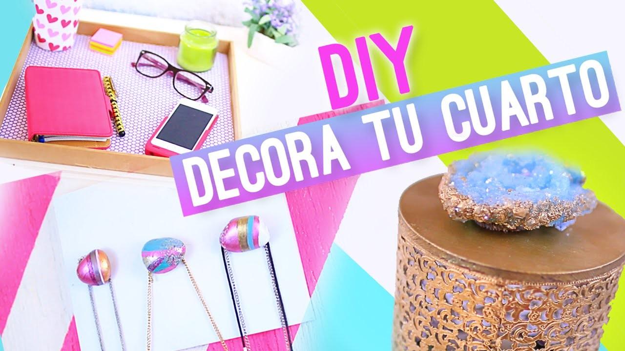 DIY IDEAS PARA DECORAR TU CUARTO ♥ Jimena Aguilar (Colab. Nancy Loaiza)