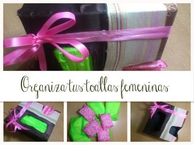 ♥ •Organiza tus toallas femeninas ○ ♥