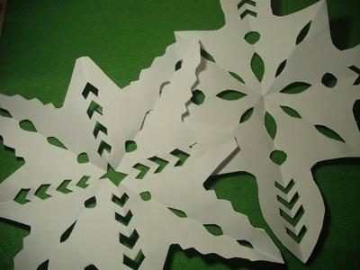 Estrellas de papel para NAVIDAD
