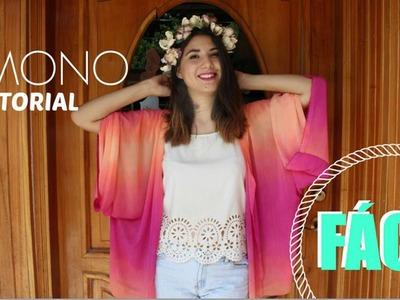 Haz un Kimono en menos de 30 min -♥Angy