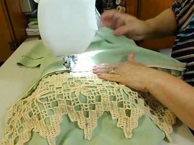 Idea para decorar un cojin