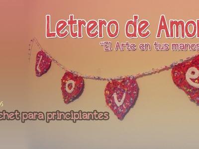 """Letrero de amor ☺♥ """"Colección Amor y Amistad"""""""