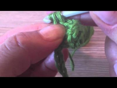 Punto Alto o Punto Vareta - Crochet