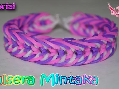 ♥ Tutorial: Pulsera Mintaka (sin telar) ♥