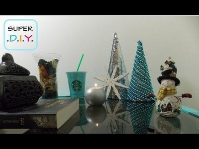 2 Árbolitos de navidad para pequeños rincones DIY