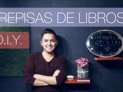 #75 REPISAS DE LIBROS | D.I.Y. ♛ ♻