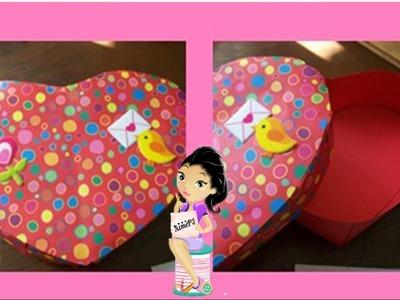 Caja de Corazon. San Valentin