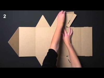 Cajas para botellas - Vídeo de montaje ref. 1509 SelfPackaging