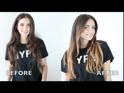Diy como hacer la caida del jersey my crafts and diy projects - Como hacer mechas californianas en casa ...