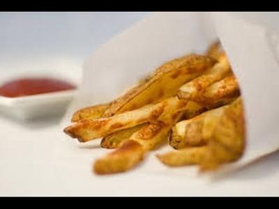Como hacer papitas fritas ricas y saludables