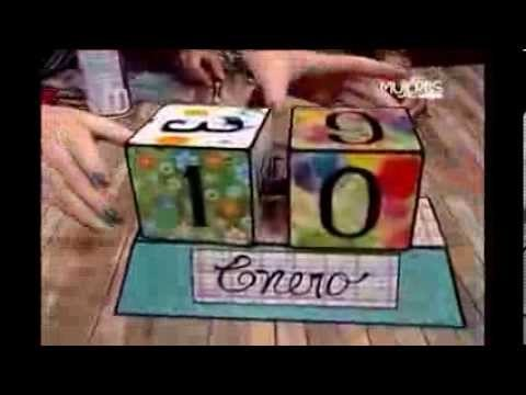 Cómo hacer un Calendario de Cubos de Madera (METVC)