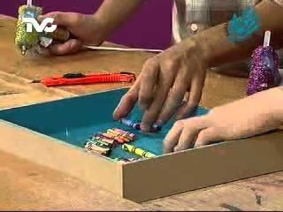Cómo hacer un Cuadro con Crayolas (EC)