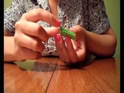 Cómo hacer una pulsera de papel