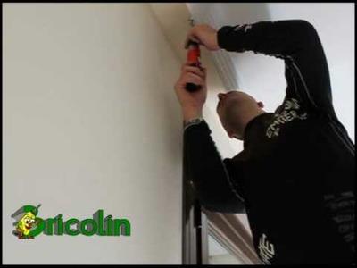 Cómo poner rieles para cortinas 2 - Bricolaje y manualidades