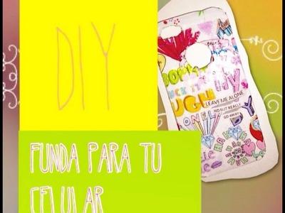 DIY - Funda para Teléfono.Celular ❤️