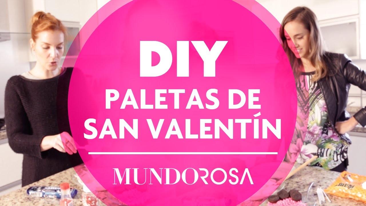 DIY: Paletas de San Valentín