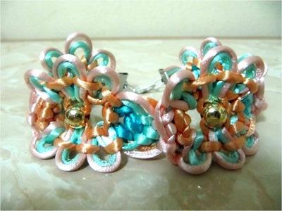 DIY pulseras de la amistad de flores - DIY friendship bracelets flowers