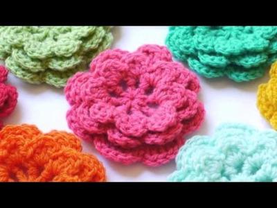 Flores de Ganchillo 1