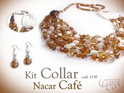 KIT 1150 Kit collar nacar cafe x und