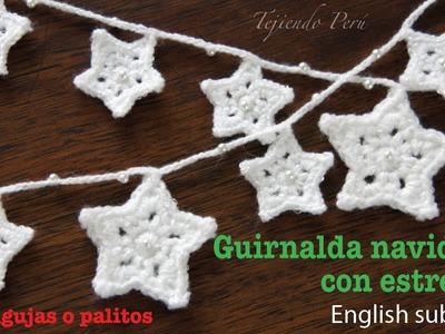 Mini Tutorial #11: Guirnalda de estrellas de Navidad - English subtitles