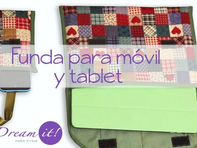 Quilt -Tutorial Funda para Tablet y Móvil