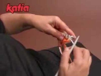 Tubular cast on · Montado tubular · Montage Tubulaire