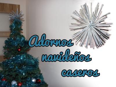 Adornos navideños caseros, manualidades para navidad - Manualidades Fáciles