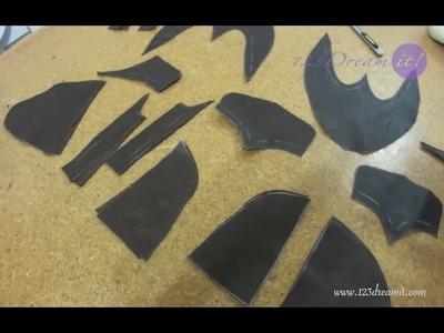 Calzado Artesanal Parte 7- Corta las piezas en piel