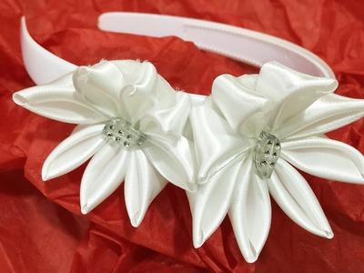 Cómo crear una diadema de flores paso a paso